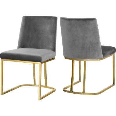 Noah Seppich Upholstered Dining Chair - set of 2 - Wayfair