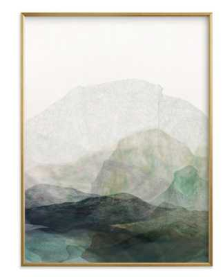 """Finding Balance No.1 Art Print - 30""""x40"""" - Gilded Wood Frame - Minted"""