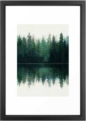 Reflection Framed Art Print - Society6