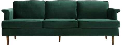 Adkins Sofa - green - Lulu and Georgia