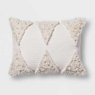 Cream Fringe Lumbar Pillow - Opalhouse™ - Target