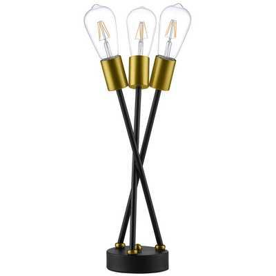 BEDECK BRASS METAL TABLE LAMP - Modway Furniture