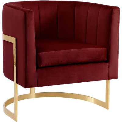 Leila Barrel Chair - Wayfair
