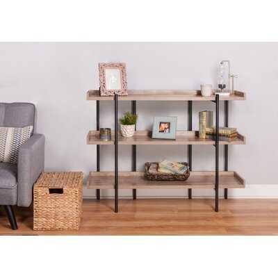 Parker Modern Etagere Bookcase - Wayfair