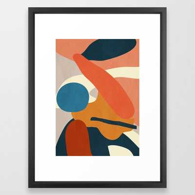 Abstract Art 43 Framed Art Print by ThingDesign - Society6