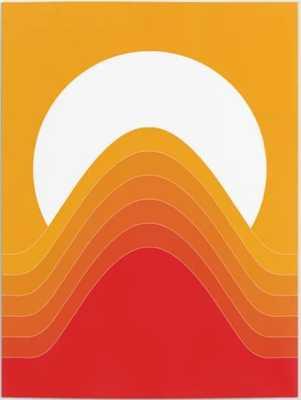Desert Sunrise Poster - Society6