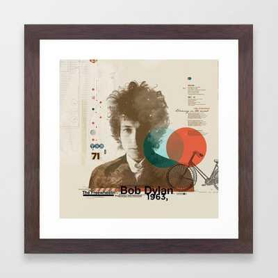 Bob Dylan Framed Art Print - Society6
