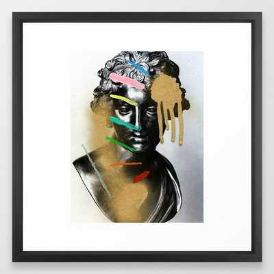 Composition 527 Framed Art Print - Society6