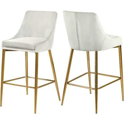 "Karina 27.5"" Counter Stool (Set of 2) - Wayfair"