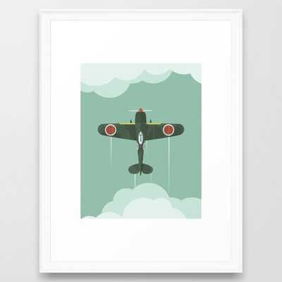 Airplane Framed Art Print - Society6
