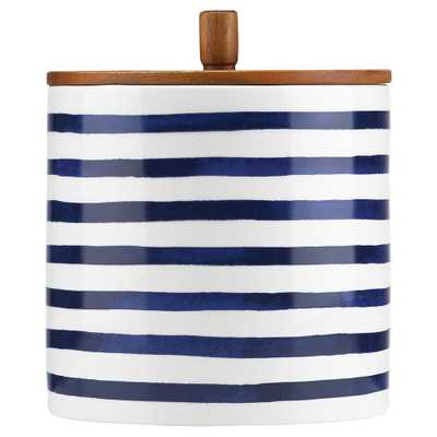 Lenox Kate Spade New York Charlotte Street Large Canister - Kathy Kuo Home