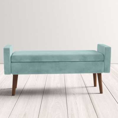 Boley Upholstered Flip Top Storage Bench - AllModern