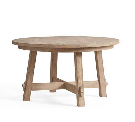 Toscana Round Extending Dining Table - Pottery Barn