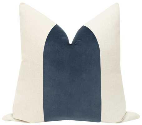 "PANEL :: Signature Velvet // Prussian Blue, 20"" x 20"" - Little Design Company"