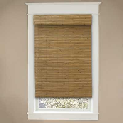 Cut-to-Size Honey Cordless Light-Filtering UV Protection Bamboo Shades 27 in. W x 48 in. L - Home Depot