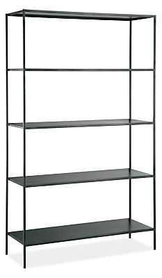 Slim 42w 15d 72h Bookcase - Room & Board