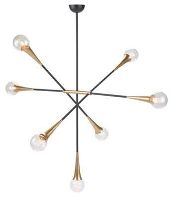 Tristan 7 Light Pendant - Burke Decor