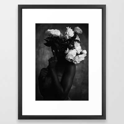 Graham Framed Art Print - Society6