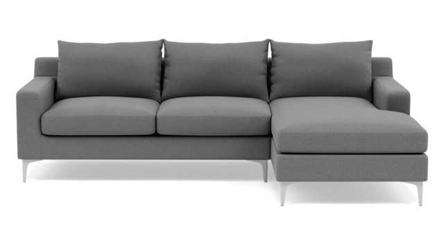 Sloan Sectional with Right Chaise - Interior Define