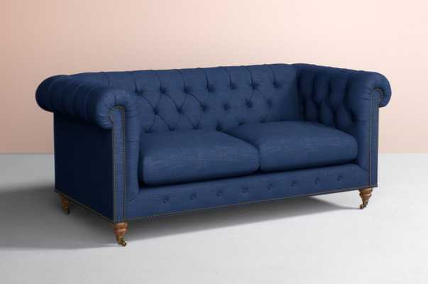 Lyre Chesterfield Two-Cushion Sofa - Anthropologie