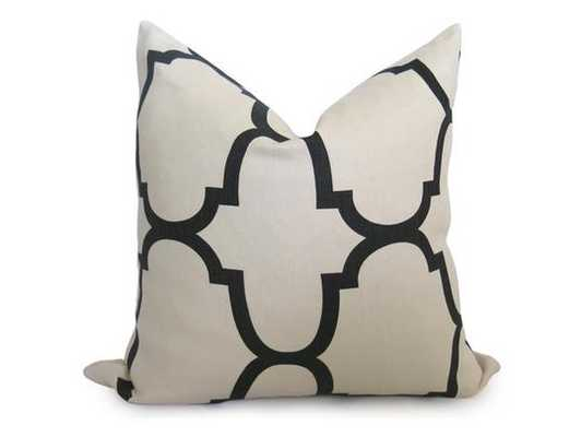 Riad Pillow Cover - Jet - Willa Skye