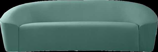 """Robeline Velvet Curved 91"""" Sofa - Wayfair"""