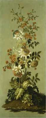 Decorative Panels with Flowers - art.com
