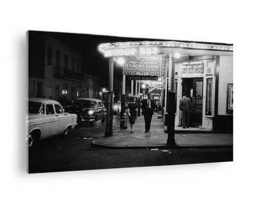 1962: New Orleans' Door Bar in the city's Vieux Carre quarter. (Photo by Evans/Three Lions/Getty Images): ACRYLIC PRINT - Photos.com by Getty Images