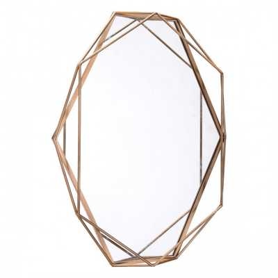 Octagonal Mirror Antique - Zuri Studios