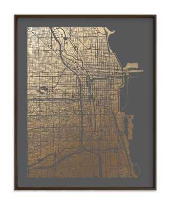 chicago map - Minted