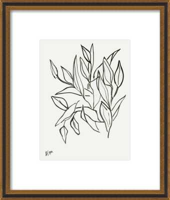 "Lilies_with matte_FINAL:16.5x19.5"" - Artfully Walls"