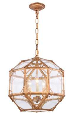Puccio 3-Light Geometric Chandelier - Wayfair