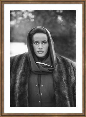 Grace Jones Framed Print - Photos.com by Getty Images