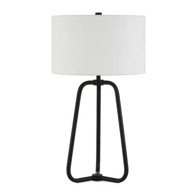 "Eric 26"" Table Lamp / Blackened Bronze - Wayfair"