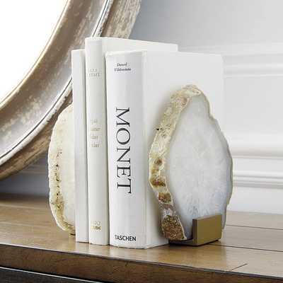 Agate Bookends - Set of 2 - Ballard Designs