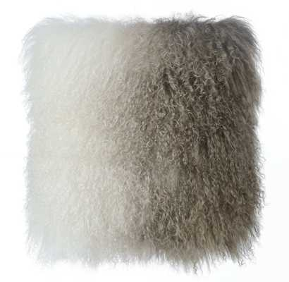 Felicity Sheep Pillow White to Brown - Maren Home