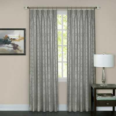 Goldsboro Geometric Room Darkening Thermal Pinch Pleat Single Curtain Panel - Wayfair