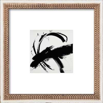 "B + W #1 by Jill Sykes - 8""x8"" Framed Art Print - Artfully Walls"
