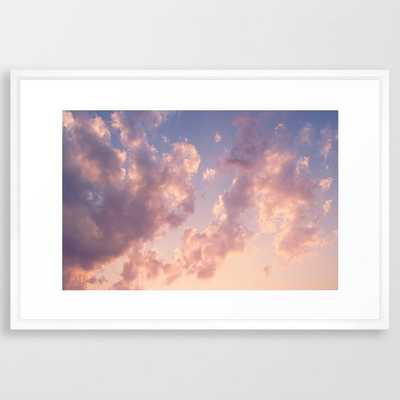 "Skies - 26"" x 38"" - vector white - Society6"