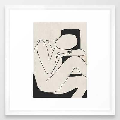 Abstract Art 15 Framed Art Print - Society6
