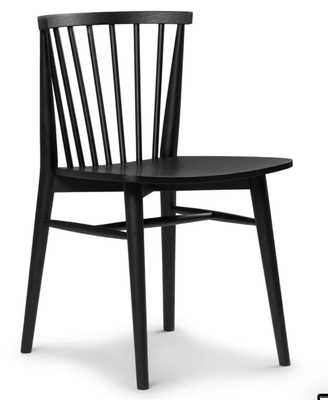 Rus Black Dining Chair - Article