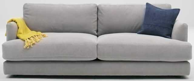 Haven Sofa - Performance Washed Canvas - Feather Gray - West Elm