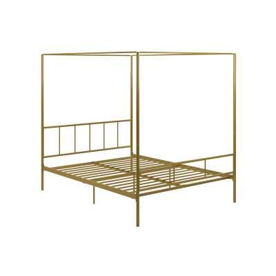 Marion Canopy Bed - King - Wayfair
