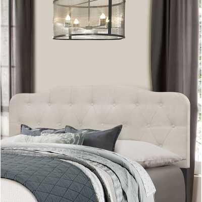 Chesterwood Upholstered Panel Headboard, Fog, King size - Wayfair