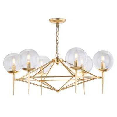 Jaidan 6 Light Candle-Style Chandelier - AllModern