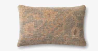 P4033 Ed Beige / Lt. Green Pillow - Poly Fill - Loma Threads