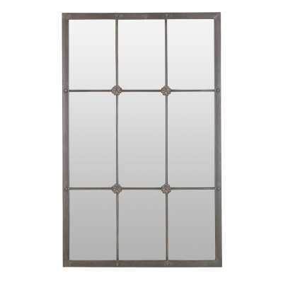 Kristofer Window Pane Wall Mirror - Wayfair