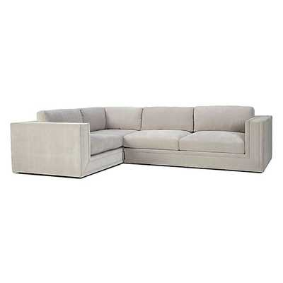 Luka Sectional - 3 PC - Right Arm Facing - Opulent Polar - Z Gallerie
