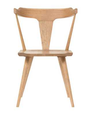 RUTHIE CHAIR, NATURAL OAK - McGee & Co.