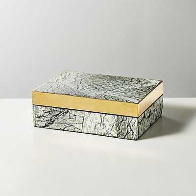 baguio stone box - CB2